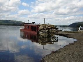 Millersburg Ferry Boat on the Susquehanna River