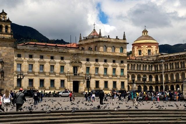Bolívar Plaza in Bagotà