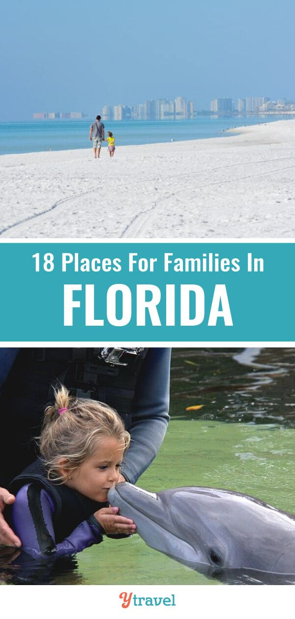 21 Best Places To Visit In Florida With Kids Florida Travel Big Family Travel Cool Places To Visit