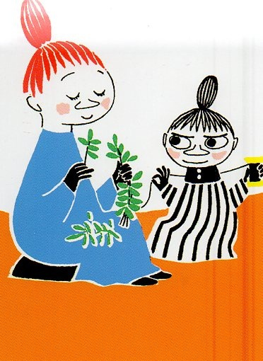 From children's book Moomin Mimble and little my, (by Kyoto348)