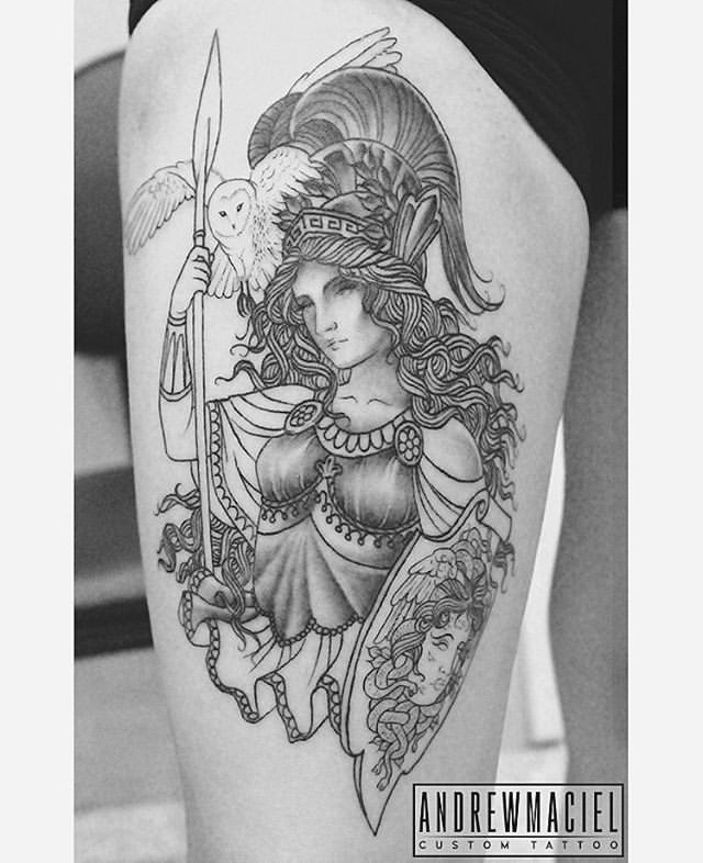 Best 25+ Athena Tattoo Ideas On Pinterest