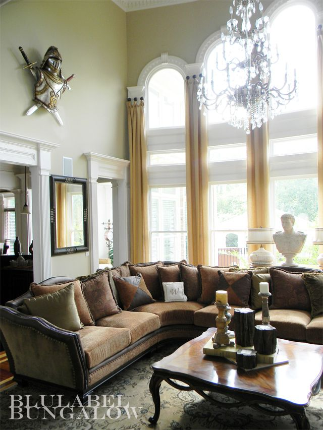 246 best 2 story window treatments images on pinterest for Good interiors for living room