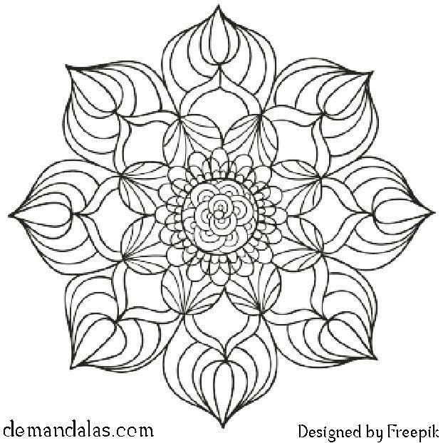 Mandala Para Imprimir En Pdf Mandala Para Imprimir Mandalas