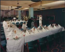 Wedding in function room, Lennons Hotel, Brisbane, Queensland, 1965 [picture]