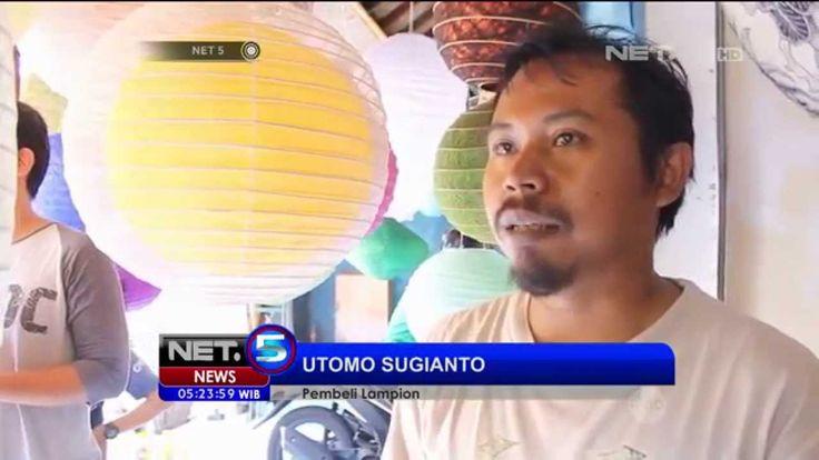 Jelang Hari Raya Imlek, Perajin Lampion di Bali Kebanjiran Pesanan