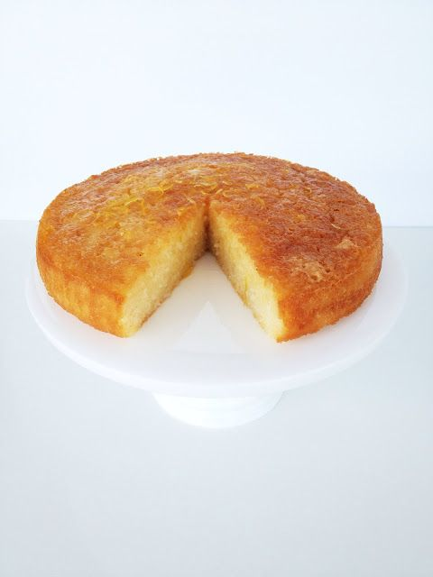 what caroline cooked: Coconut Cake with Lemon Syrup