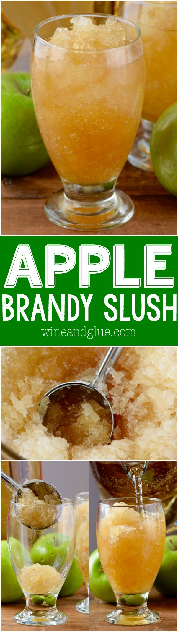 This Apple Brandy Slush is easy to make and serves a crowd! It's delicious and…