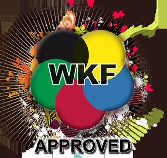The logo says it all, WKF is the WORLD KARATE FEDERATION.  the WKF is the international governing body for sport Karate.