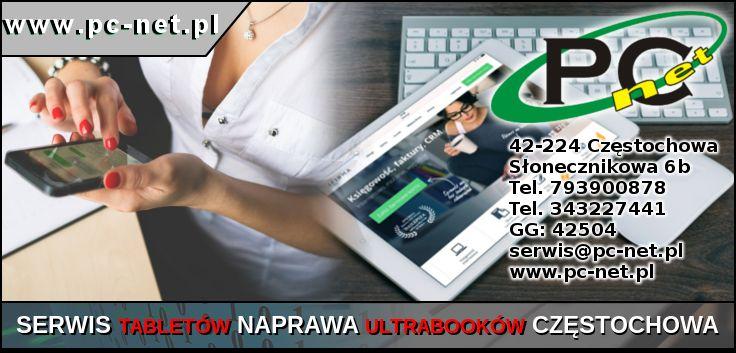 Serwis Tabletów Częstochowa Zajmujemy się wymianą digitizerów, szybek, LCD, całych ekranów. Świadczymy usługi zakresu aktualizacji oprogramowania instalacja aplikacji