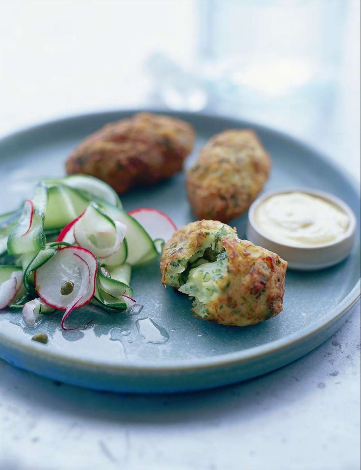 Salt cod croquettes by Pam Talimanidis from A la Grecque | Cooked
