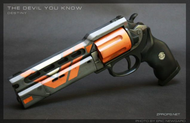 Building Badass Destiny Hand Cannons