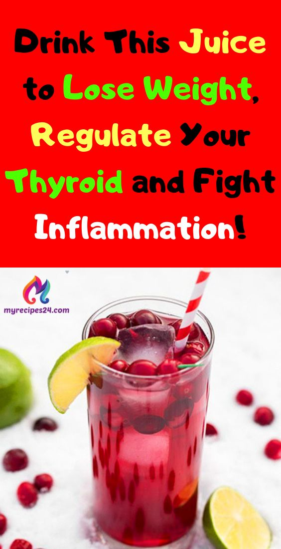 Drink This Juice to Lose Weight, Regulate Your Thyroid and Fight Inflammation!! …