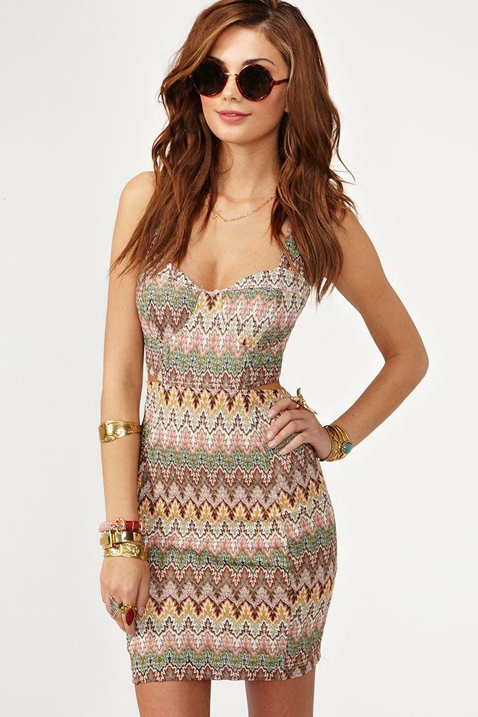 Pretty. Knit. Dress.