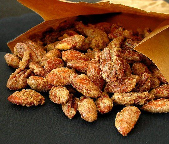 Sugared Spiced Nuts: Sugar Spices, Nut Recipes, Holidays Food, Gifts Ideas, Dinners Parties, Spices Nut, Food Recipes Ideas, Spiced Nuts, Sugar Sp Nut Addiction