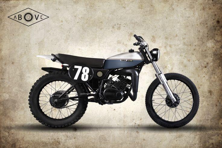 First artwork, Yamaha 125 DTMX