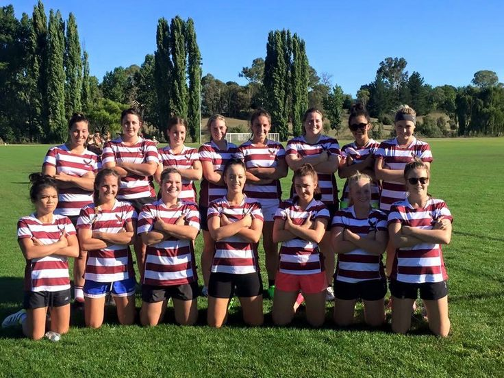 Our 2016 Rugby 7s winners. Well Done girls