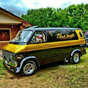 Cool Old School Van