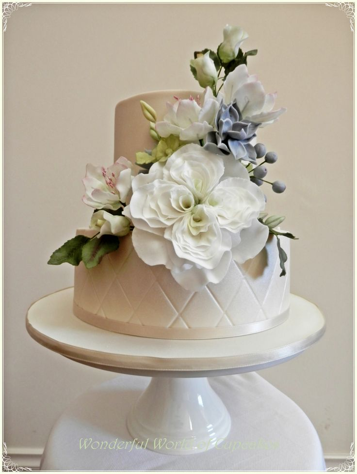 4 tier wedding cake with sugar flowers 950 best gum paste fondant chocolate amp buttercream images 10425