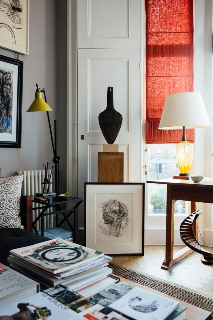 Artist Sarah Graham's London home and studio
