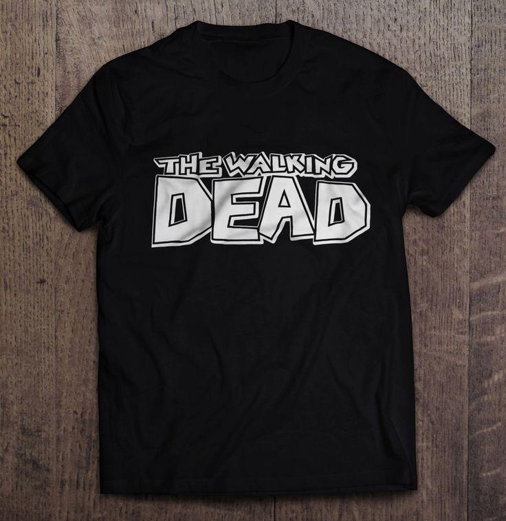 The Walking Dead Comic Book T-Shirt