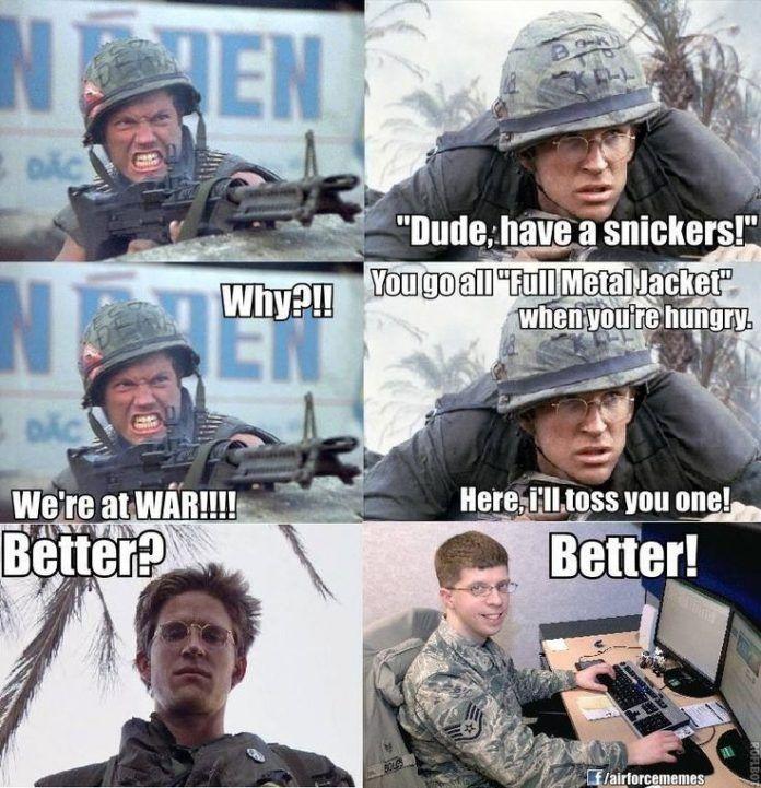 20 Hilarious Air Force Memes Military jokes, Military