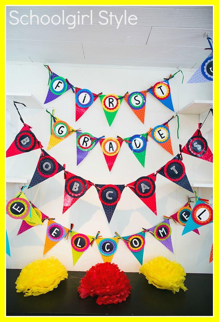 Classroom Banner Ideas ~ Best images about classroom decor on pinterest