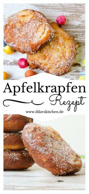 Apfelkrapfen werden traditionell zum Karneval (Fasching, Fasnet - wie auch immer) gebacken. Sie schmecken aber eigentlich das ganze Jahr ziemlich lecker. Warum also nicht einfach mal ausserhalb der närrischen Zeit backen?