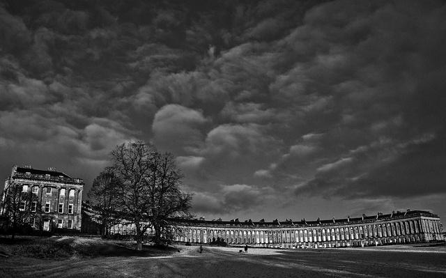 The Royal Crescent - Bath, UK by Gaurav Pradhan, via Flickr