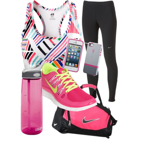 accents of pink fit gear