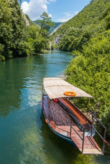 Matka Canyon outside of Skopje, Macedonia, was just one of the surprisingly beautiful locales I encountered while traveling the Balkans.