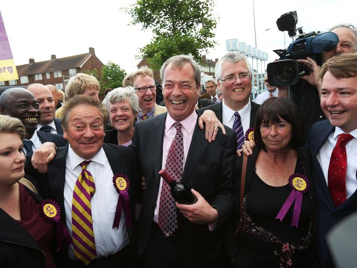 Local election results 2014: Nigel Farage hails Ukip's 'political earthquake' and vows more to come