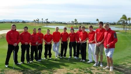 With the winter weather gripping the UK, Derby College students who are members of the PERFORMANCE GOLF ACADEMY DERBY education and player training programme are currently preparing to go overseas for warm weather training.