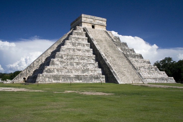 Chichen Itza....been there  Mexico..They use to let you climb to the top....Until several people fell down the stairs and died. Granted- I would not want to climb to the top even if allowed. Narrow steep stairs.: Places Travel, Chichen Itza, Style, Steep Stairs, Mexico They, Photo, Itzá Architecture