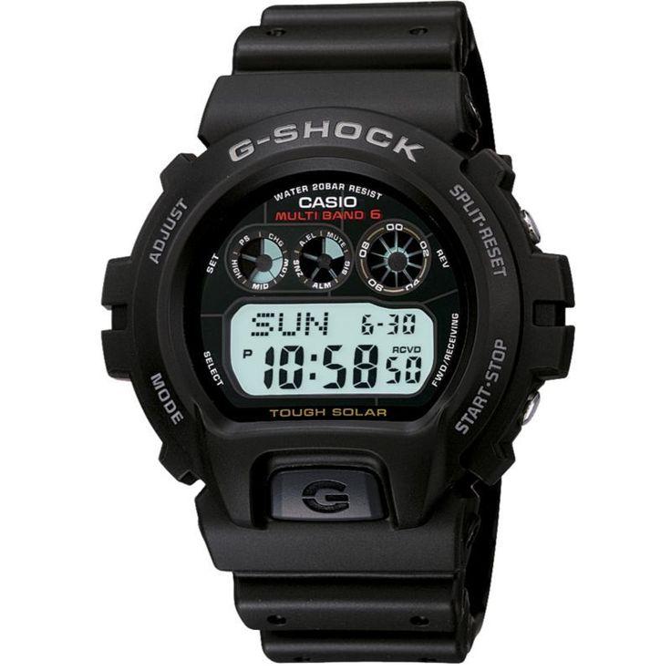 Casio G-Shock Solar Atomic Watch, Black