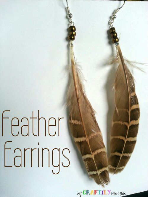 Feather Earrings - Easy Gift Series