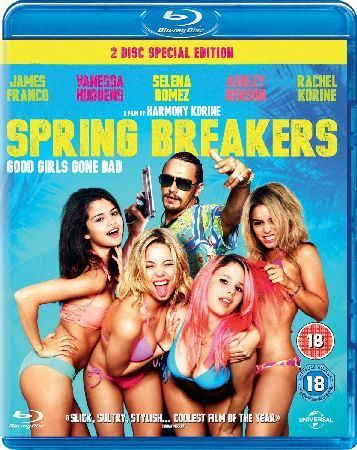 Spring Breakers This adrenaline-pumping must-see film of the year follows teen tearaways Brit (Ashley Benson) Candy (Vanessa Hudgens) Cotty (Rachel Korine) and Faith (Selena Gomez) who hold up a restaurant with toy g http://www.MightGet.com/january-2017-12/spring-breakers.asp