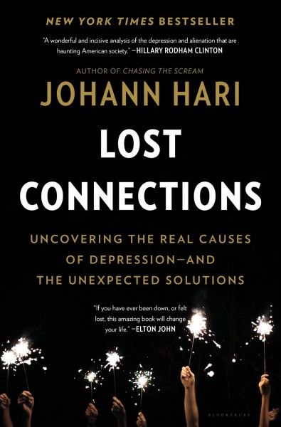Lost Connections by Johann Hari. Outlines arguments against common misperceptions about depression and anxiety, drawing on the work of social scientists who believe that the disorders are less related to brain chemical imbalances than to stressful factors in how people live today.