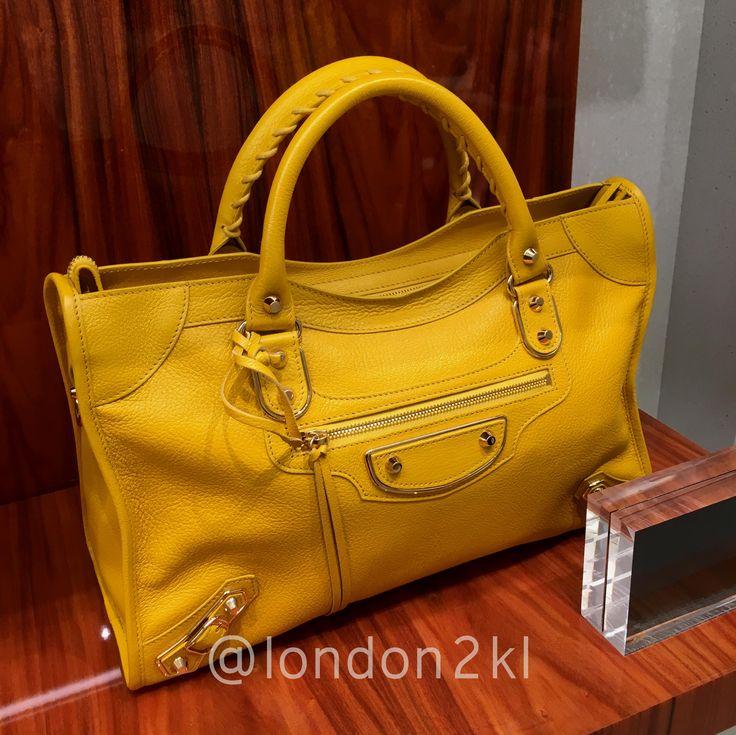 Dec special price metallic edge balenciaga in yellow rm6