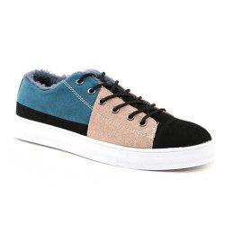 $19.10 Color Block Design Casual Shoes For Men