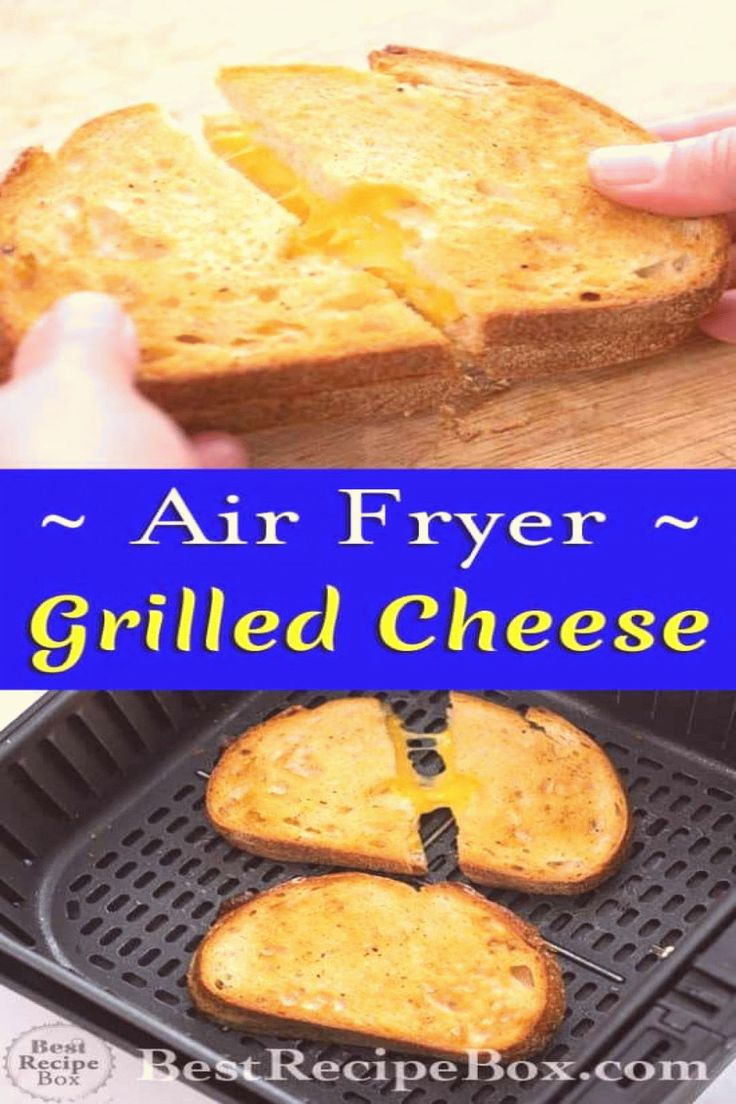 Air Fryer Grilled Cheese Sandwich Best and Easy Best