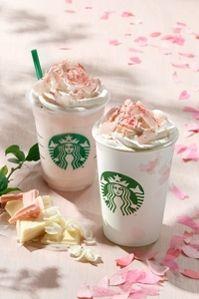 スタバ、春を告げる期間限定ドリンク発売 「桜」風味のホットチョコとフラペチーノ!