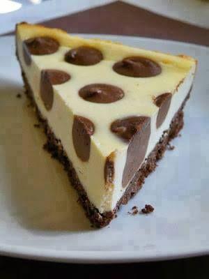 Ricetta Cheesecake a pois!