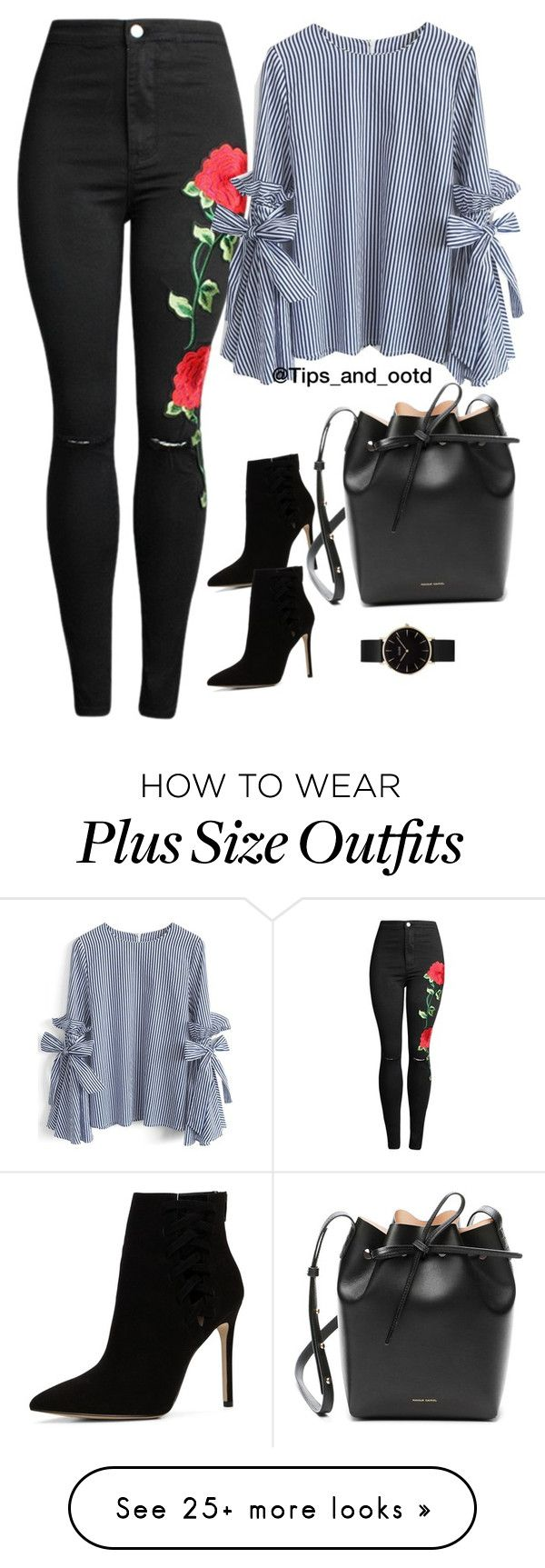 """""""Ootd"""" by mamzelleyaa-05 on Polyvore featuring Chicwish, ALDO, Mansur Gavriel and CLUSE"""
