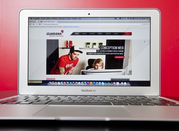 Refonte site Web Guarana
