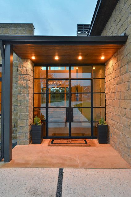 South Austin Soft Contemporary contemporary-entry