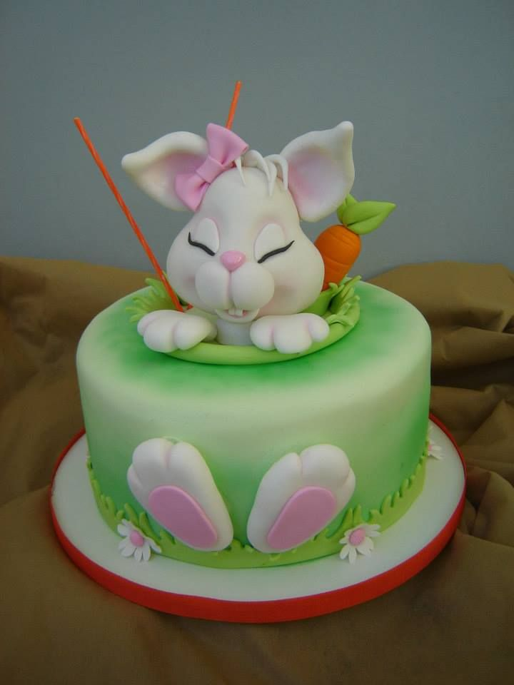 1045 best Bunny Cakes images on Pinterest Bunny cakes ...