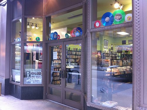 Reckless Records - Loop Store - Madison Avenue, Chicago.
