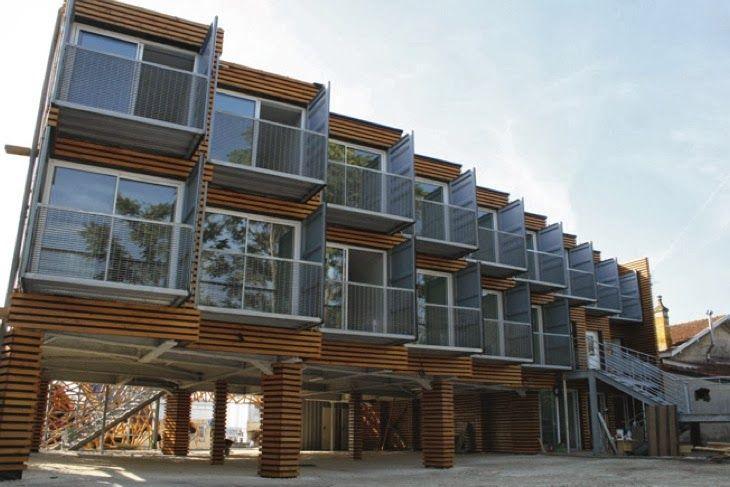 Les 3326 meilleures images du tableau containers sur for Maisons containers architecture