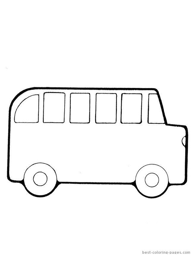 - School Bus Coloring Pages Printable Bus 51 Transportation – Printable  Coloring Pages In 2020 Coloring Pages To Print, Coloring Pages, Easy  Coloring Pages