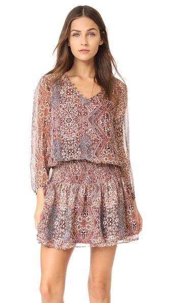 ELLA MOSS Casablanca Tapestry Dress. #ellamoss #cloth #dress #top #shirt #sweater #skirt #beachwear #activewear